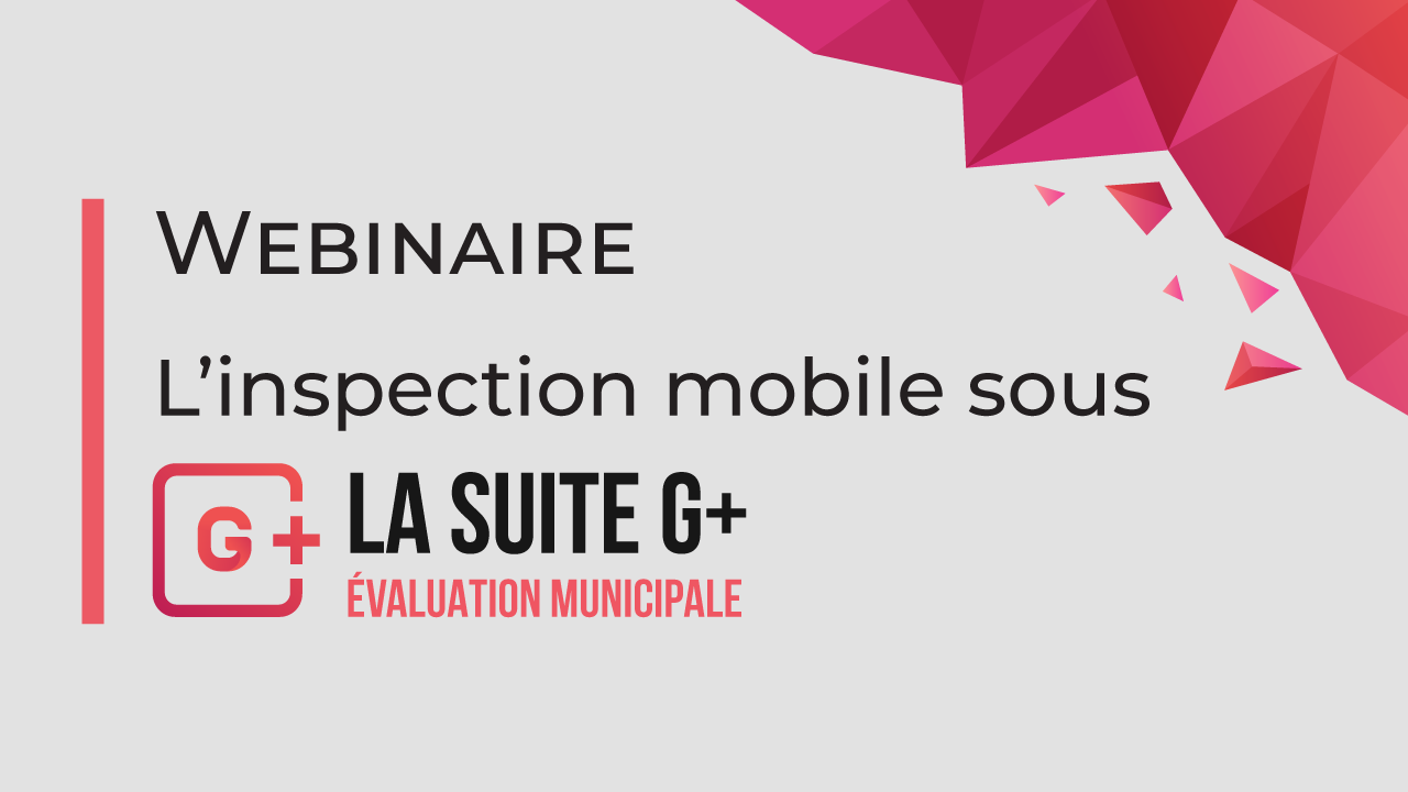 Webinaire inspection mobile